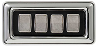 Power Window Switch - 4 Concave Buttons - 69-77 B-Body; 70-71 E-Body