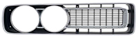 Front Grille - RH - Black/Silver - 71 Charger