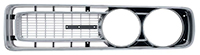 Front Grille - LH - Silver - 71 Charger