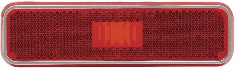 Side Marker Lamp Lens - Rear - Red - 72-76 Dodge Plymouth A, B, & E-Body