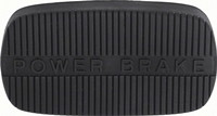 Brake Pedal Pad - Auto Trans - Power Brakes - 62-67 Chevy II Nova