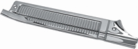 73-87 Chevy GMC Pickup 73-91 Blazer Jimmy Suburban Front Door Sill Plate - LH