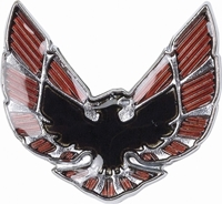 70-73 Firebird Bird Fender Emblem, LH/RH sold ea