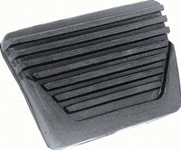 62-67 Nova Brake/Clutch Pedal Pad, Horizontal Ribs