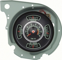 69 Chevelle El Camino Tachometer/Gauge Cluster with 5500 RPM Redline