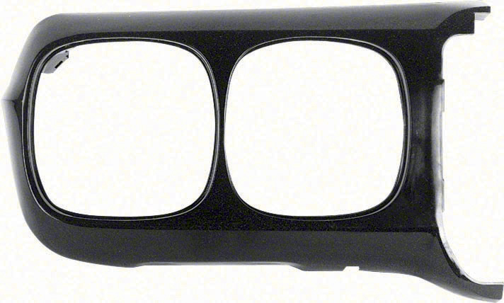 Headlamp Bezel - Black - RH - 69 Firebird
