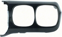 Headlamp Bezel - Black - LH - 69 Firebird