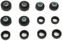 70-72 Camaro 70 Firebird Body & Radiator Support Bushing, 12pc Set