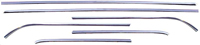 Roof Drip Molding Set (6pcs) - 68-72 Chevy II Nova 2DR Sedan (Post)
