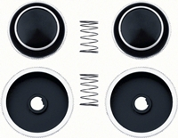 Radio Knobs - 4 Piece Set for AM/FM - 70-81 Firebird