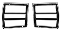 68 Dart Tail Lamp Bezels (Sold as a Pair)