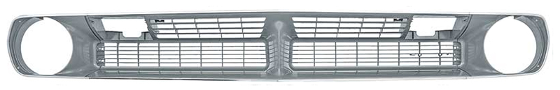 Grille Set - Grille, Headlamp Bezels & Trim - 70 Plymouth Barracuda
