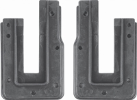 Door Jamb Rubber U-Seals - LH/RH Pair - 62-65 Chevy II Nova (Coupe)
