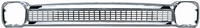 Grille  - Without Chevrolet Lettering - 64-66 Chevy Truck