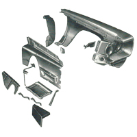 Body Components for 3071 Chevy C30 Pickup