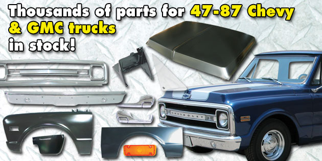 Correct As Original Restoration Parts for your car or truck project
