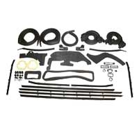 Weatherstrip & Rubber for 1963 Chevy Bel Air