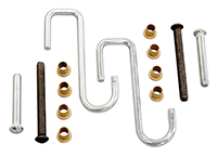 Door Hinge Rebuilt Kit (Pins, Bushings, Detent Springs) - 66-76 A-Body; 66-74 B-Body; 70-74 E-Body