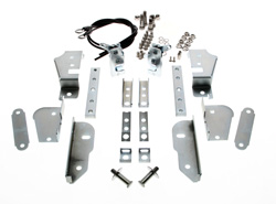 Hidden Tailgate Latch Kit (Stainless Hardware) - 47-87 Chevy GMC Stepside Pickup; 48-87 Ford Flareside Pickup