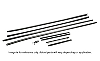71 E-Body Convertible O.E.M. Style Weatherstrip Kit - 8pcs