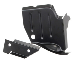 Rocker to Frame Lower Splash Shield - LH - 70-74 Dodge Plymouth E-Body