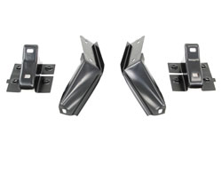 Rear Bumper Bracket Set (4pcs) - 66-67 Fairlane (except Wagon or Ranchero)